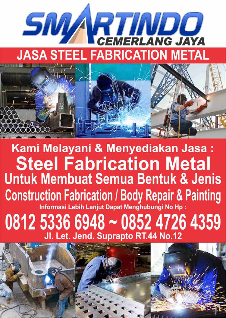 Jasa Bengkel Steel Fabrication Baja Workshop Bubut